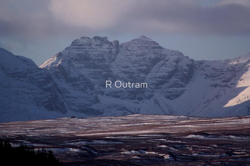 An Teallach Ridge by R Outram