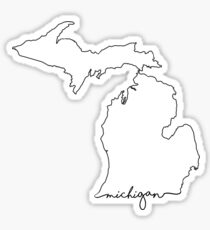 Pegatina Michigan