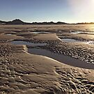 Inlet Beach Low Tide Sunset Photography by ClarasDesk