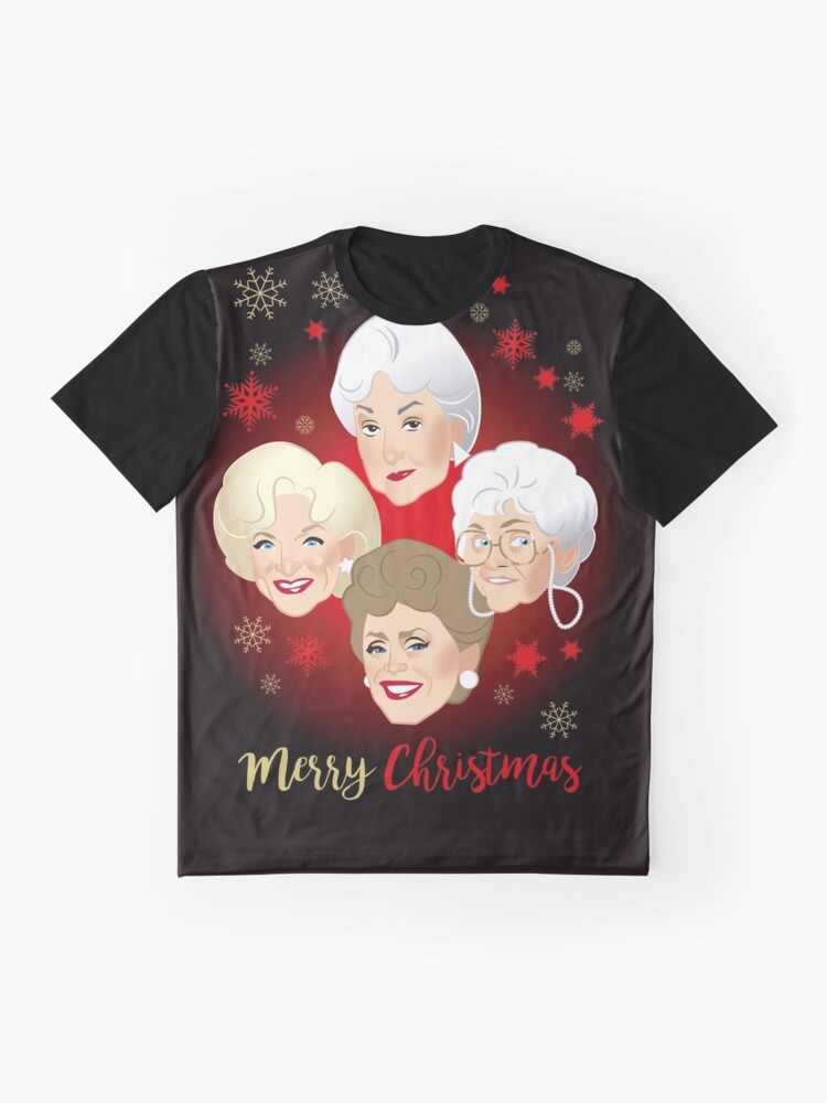 Alternative Ansicht von Goldenes Weihnachten Grafik T-Shirt