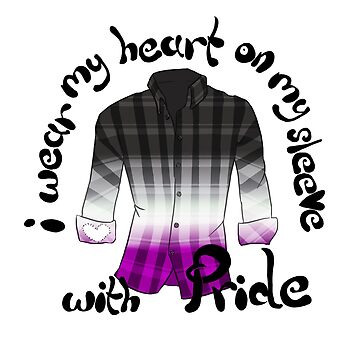 Heart on my sleeve - Ace pride by Shinymarble