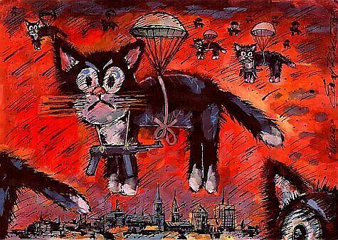 the war by Igor Vaganov