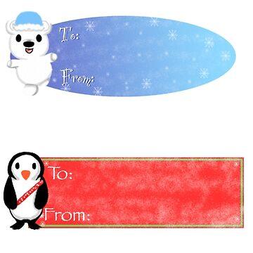 Christmas Sticker Pack  by Redjiggs