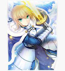 Saber - Fate Poster