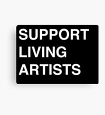 Support Livings Artists V.2 Canvas Print