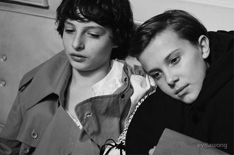 Quot Fillie Mileven Millie Bobby Brown And Finn Wolfhard