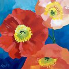 Iceland Poppies by LucyStripes