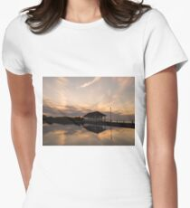 Sunset at the boating lake. T-Shirt
