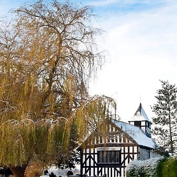 Black & White Church ~ Melverley, Shropshire by dunawori