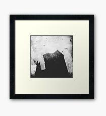 Spooky house in Dublin! Framed Print