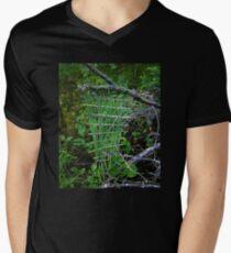 Swamp Weave Men's V-Neck T-Shirt