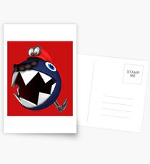 Chain Chomp Mario Postcards
