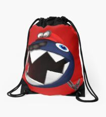 Chain Chomp Mario Drawstring Bag