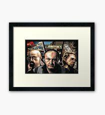 GTA SERIALS Framed Print