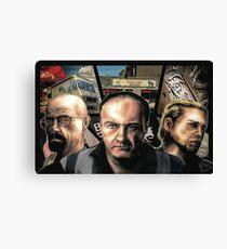 GTA SERIALS Canvas Print