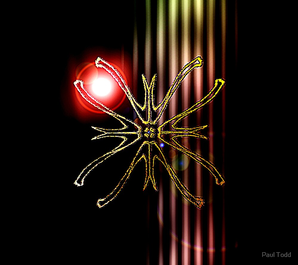 Flower Emblem A by Paul Todd