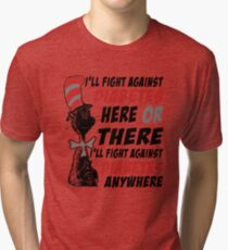I'LL FIGHT AGAINST DIABETES | DIABETES AWARENESS Tri-blend T-Shirt