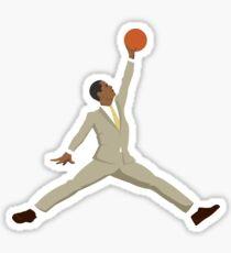 Obama tan suit x Jumpman  Sticker