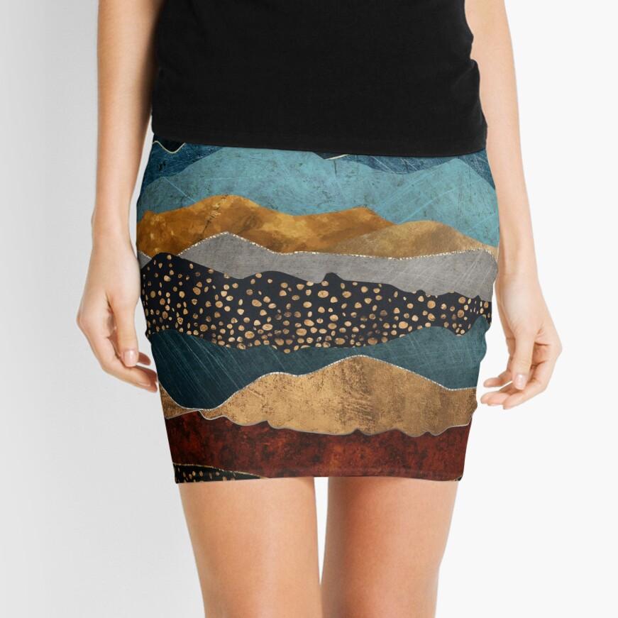 Amber Dusk Mini Skirt