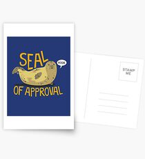 Seal of Approval Postcards