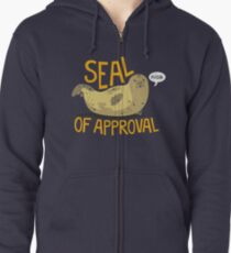 Seal of Approval Zipped Hoodie