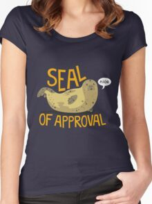 Seal of Approval Women's Fitted Scoop T-Shirt