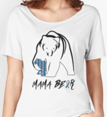 MAMA BEAR | DIABETES AWARENESS Women's Relaxed Fit T-Shirt