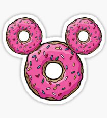 Donut Mickey Sticker