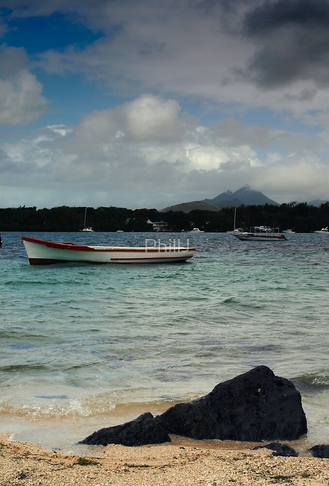 Mauritius Seascape by PhillJ