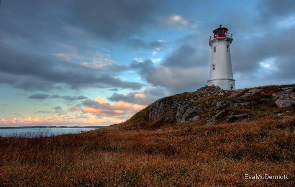 Louisbourg Lighthouse by EvaMcDermott