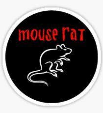 Parks and Recreation Mouse Rat Sticker Sticker