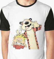 Calvin and Hobbes-Original Graphic T-Shirt