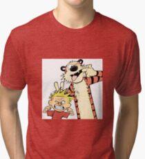 Calvin and Hobbes-Original Tri-blend T-Shirt