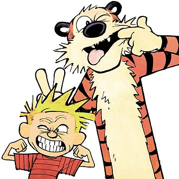 Calvin and Hobbes-Original by AjEstes