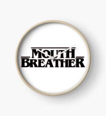 Stranger Things Mouth Breather Clock