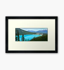 Lake Louise Perfection Framed Print