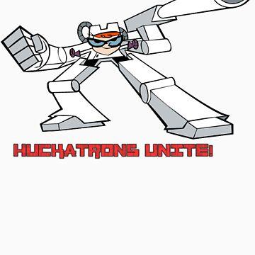 Huckatrons Unite! by whizkidz