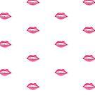Pink Lips  by Elizabeth Reoch