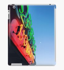 neon guides us home iPad Case/Skin