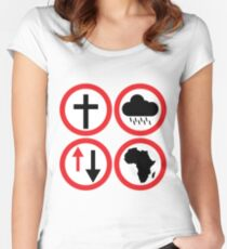 Toto - Africa: Bless Rains Down Africa Women's Fitted Scoop T-Shirt