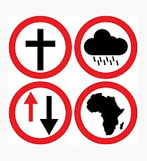 Toto - Africa: Bless Rains Down Africa Photographic Print