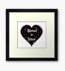 Remus and Sirius forever Framed Print