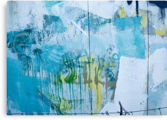 Graffiti Blue No.1 by Orla Cahill Photography