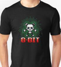 Retro Panda Pixel Art Unisex T-Shirt
