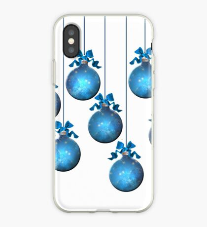 Blue Ornaments #2 iPhone Case
