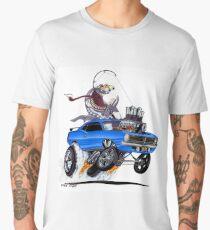 "Vince Crain High Octane Art ""FISH TAILIN"" 1970 Men's Premium T-Shirt"