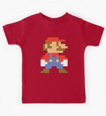 Super Mario 3D World Mario Sprite Kids Tee