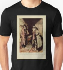 A Christmas Carol by Charles Dickens art by Arthur Rackham 1915 0041 Nobody Under The Bed Unisex T-Shirt