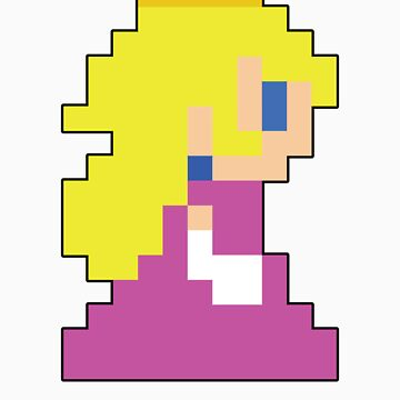 Super Mario 3D World Peach Sprite by NiGHTSflyer129