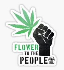 Flower to the People Sticker